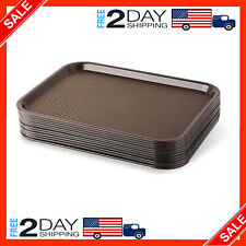 10 Standard Food Serving Trays Fast Dinner Dish Lunch Dining Catering Resta 00004000 urant
