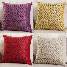 European Square Cushion Throw Pillow Case Cover Car Sofa Home Decor Precious