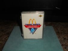 1991-92 UPPER DECK  McDONALD'S NHL  ALL STAR HOCKEY SET 25 CARD SET +6 HOLOGRAMS