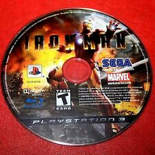 Iron Man (Sony PlayStation 3, 2008) Disc Only # 5809