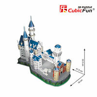 1pc Neuschwanstein Castle Germany CubicFun 3D Puzzle Paper Model MC062h-2