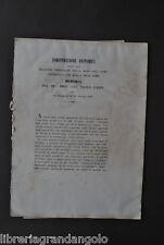 Medicina Anatomia Scheletro Arti Mano Uomo Scimmia Gaddi Modena 1866