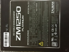 ZALMAN ZM 1250 - PLATINUM Power Supply 1250 Watt