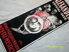 Vintage 50s-60s Rare Alexander Magician Magic Stage Props Collectible Poster Art