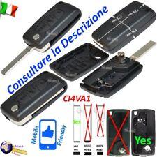 CHIAVE SHELL COVER GUSCIO CI4VA1 FLIP VA2 3 TASTI CITROEN PICASSO C5 DS3 PEUGEOT