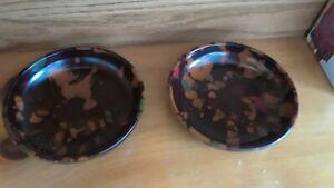 Bakelite Candy Bowl 5 inch diameter, swirl vintage design (set of 2)