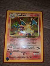1999 Pokemon Charizard Base Set Unlimited Rare Holographic Card 4/102 Holo MINT