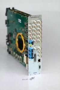 BUNDLE Evertz (2) 3000MVP-PPMX16-4H4G + (1) 3000VGO-G Boards with Backpane