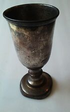 "VINTAGE SILVER CHALICE Reed and Barton 7"" x 3"""