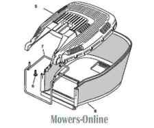 Mountfield Fabric Grassbag Grass Bag 181002229/0 HP183 SP454 HP180 SP180 HP45H