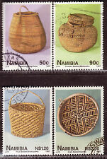 NAMIBIA 1997 NAMIBIAN BASKETRY COMPLETE POSTALLY USED SET 0027