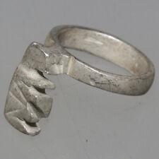 Ancient Roman Imperial Silver Key Circa 100-400 Ad - Intact