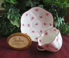 SHELLEY Fine Bone China   **SCATTERED ROSE** #11599 Cup & Saucer- DAINTY Shape