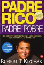 Padre Rico, Padre Pobre. Robert Kiyosaki. Libro Tapa Blanda Autoayuda Economia