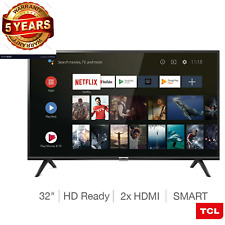 TCL Smart amazing Android TV 32 Inch HD Ready HDR with Google Assistant New UK