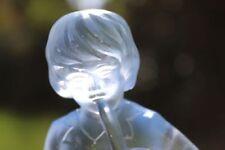 Germany Blue Art Glassware Date-Lined Glass