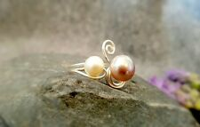 HANDMADE! Genuine Pearl Ring 50014
