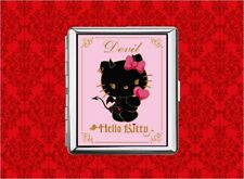 HELLO DEVIL KITTY CAT METAL WALLET CARD CIGARETTE ID IPOD CASE