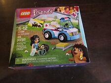 Girl LEGO Friends NEW 41086 Vet Ambulance Hedgehog Animal Figure 89 pcs.