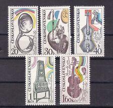 1974 Sc 1939/43 set MNH musica instruments          e13
