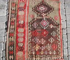 cr1920-40 Turkish North-east Collectible Fragment Kilim Rug