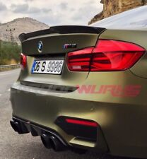 BMW M3 posteriore in fibra di carbonio BOOT SPOILER F80 F30 3 Series-UK STOCK-fibra di carbonio