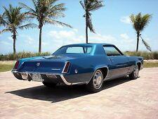 1968 Cadillac Eldorado, Dk Blue, Refrigerator Magnet, 40 MIL THICK