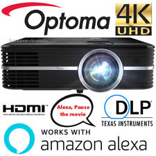 Optoma Smart UHD51A Alexa 4K Ultra High Definition Home Theater Projector DLP