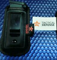 CR TACTICAL DEFENSE Iwb UNIVERSAL magazine pouch double,single stack   extended