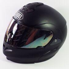 Shoei Multitec Modular Motorcycle Helmet Matte Black XXL Snell -Needs Cheekpads