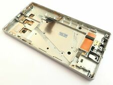 Silver Full LCD display+touch screen + Frame For Nokia Lumia 930
