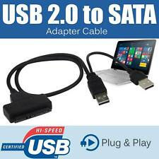 """USB 2.0 to 2.5"""" SATA External HDD SSD Adapter Cable Converter Hard Disk Drive US"""