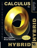 Calculus, Hybrid 10th Edition by Larson & Edwards