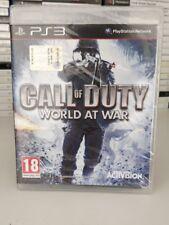 PS3 CALL OF DUTY WORLD AT WAR ITALIANO NUOVO SIGILLATO SONY PLAYSTATION 3