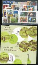 435487) Luxemburg Jahrgang 2002 **, mit 2x Block 19, m. MH Natur, ohne Funsport