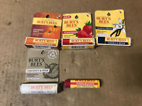 Burt's Bees 100% Natural Moisturizing Lip Balm Limited Edition - CHOOSE FLAVOR