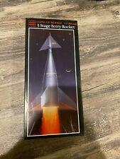 GLENCOE MODELS 3 STAGE FERRY ROCKET 1/288 SCALE PLASTIC MODEL KIT (#05908)