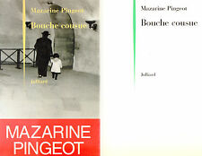 Bouche cousue / Mémoires / Mazarine PINGEOT / François MITTERRAND / 1ère Edition