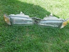 1997 SUBARU IMPREZA L&R HEADLIGHT W/TURN SIGNAL OEM
