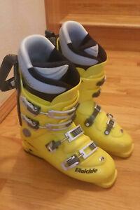 Raichle F One Pro Yellow Ski Boots Yellow Mens - Size 324 mm