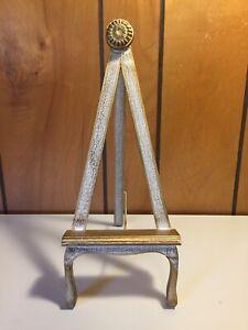 Vintage Mid Century A Frame Wooden Gold Guild Easel Japan
