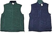 Polo Ralph Lauren Mens Green Navy Zip Fleece Pony Logo Cardigan Vest Jacket S M