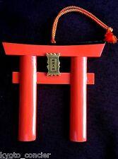 Talisman Ofuda Lucky Charm Torii gate Shinto Fushimi Inari Shrine Kyoto Japan