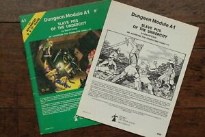 Slave Pits of the Undercity Module AD&D 1st Edition Slavers TSR 9039 A1 1980