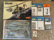 IMEX 1/35 AH-64A APACHE ATTACK HELICOPTER  #3501 W/Extras