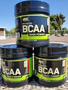 ON Instantized BCAA 5000mg Powder Fruit Punch 40Servings*Expired*see description
