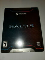 NEW Halo 5 Guardians (Limited Edition STEELBOOK Package) XBOX ONE