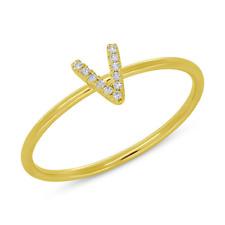 0.04 Ct Round Cut 14k Yellow Gold Natural Diamond Earrings