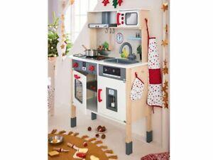 Playtive Junior jeu de cuisine bois plus accessoires Haute Qualité Garçon fille