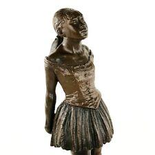 Degas 14 Year Old Dancer Ballerina Statue Sculpture Museum of Modern Art Boston